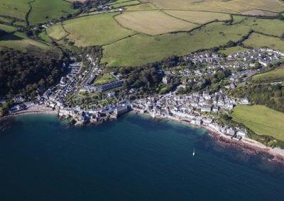 Village along the South Devon Coastline