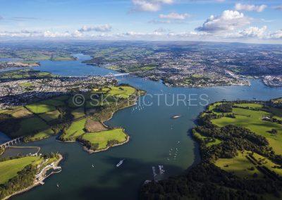 The River Tamar, South Devon