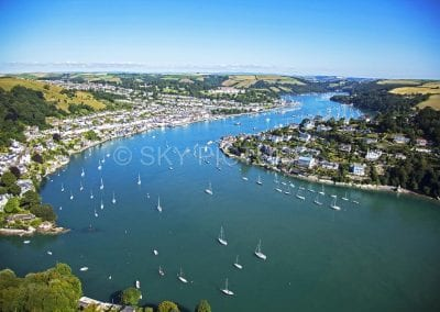 Mouth of the River Dart, Dartmouth, Kingswear